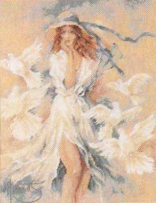 Lanarte - Girl with Doves