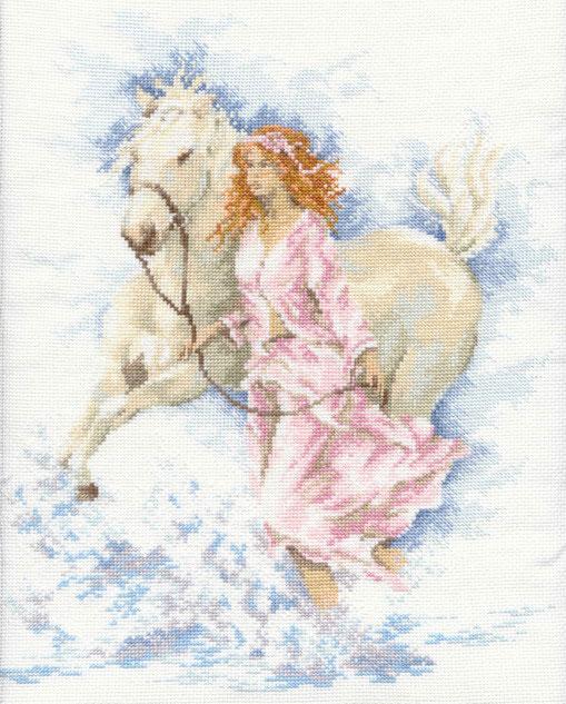 Lanarte 33827 - Lady and Horse